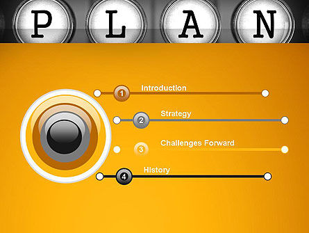 Types of Planning PowerPoint Template Slide 3