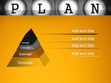 Types of Planning PowerPoint Template Slide 4