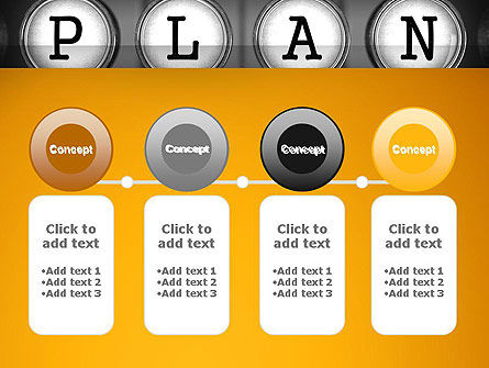 Types of Planning PowerPoint Template Slide 5