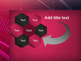Digital Draft Abstract PowerPoint Template#11