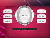 Digital Draft Abstract PowerPoint Template#12