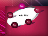 Digital Draft Abstract PowerPoint Template#14