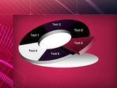 Digital Draft Abstract PowerPoint Template#19