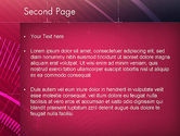 Digital Draft Abstract PowerPoint Template#2