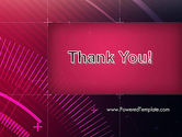 Digital Draft Abstract PowerPoint Template#20