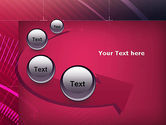 Digital Draft Abstract PowerPoint Template#6