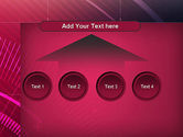 Digital Draft Abstract PowerPoint Template#8