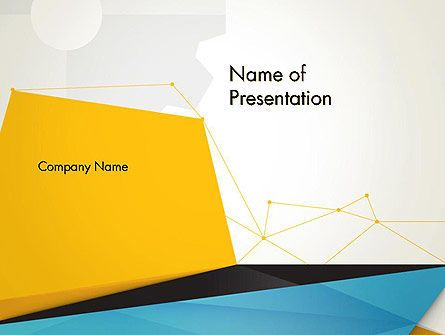 Business: Set of Flat Layers PowerPoint Template #13858