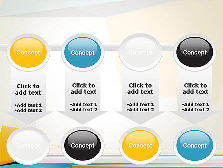 Set of Flat Layers PowerPoint Template Slide 18