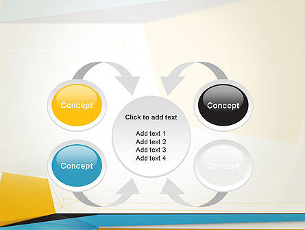 Set of Flat Layers PowerPoint Template Slide 6