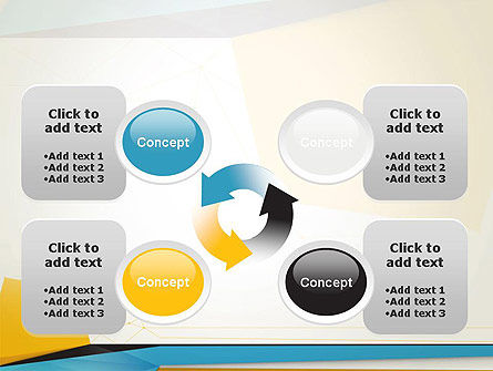 Set of Flat Layers PowerPoint Template Slide 9