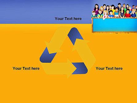 Diverse Preschool Children PowerPoint Template Slide 10