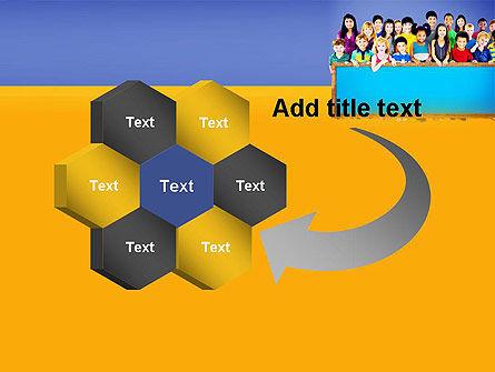 Diverse Preschool Children PowerPoint Template Slide 11