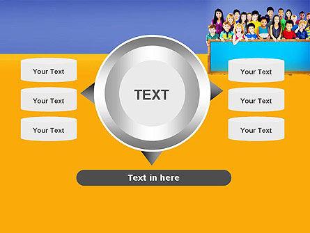 Diverse Preschool Children PowerPoint Template Slide 12