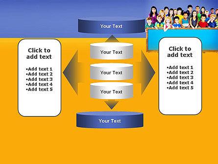 Diverse Preschool Children PowerPoint Template Slide 13