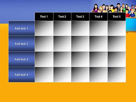 Diverse Preschool Children PowerPoint Template Slide 15