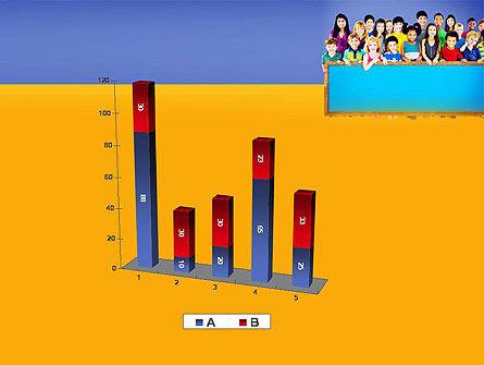 Diverse Preschool Children PowerPoint Template Slide 17