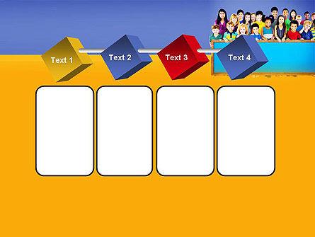 Diverse Preschool Children PowerPoint Template Slide 18