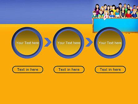 Diverse Preschool Children PowerPoint Template Slide 5