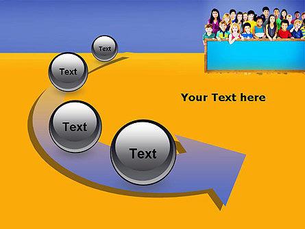 Diverse Preschool Children PowerPoint Template Slide 6