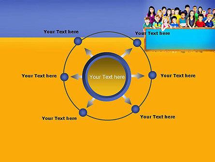 Diverse Preschool Children PowerPoint Template Slide 7