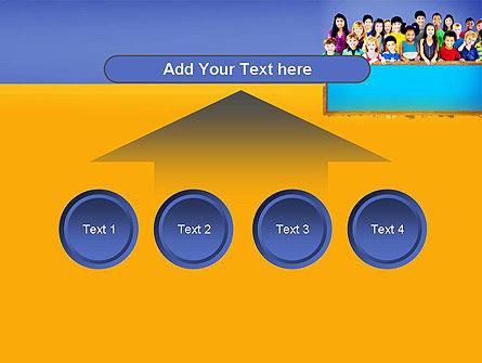 Diverse Preschool Children PowerPoint Template Slide 8