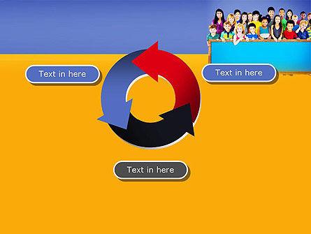 Diverse Preschool Children PowerPoint Template Slide 9