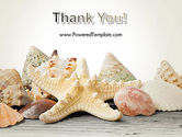 Starfish with Shells PowerPoint Template#20