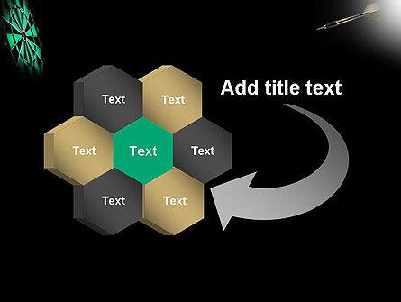 Bullseye Arrow PowerPoint Template Slide 11