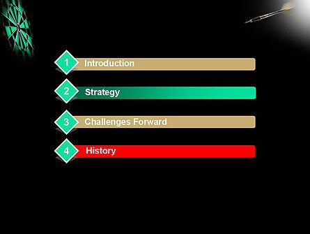 Bullseye Arrow PowerPoint Template Slide 3