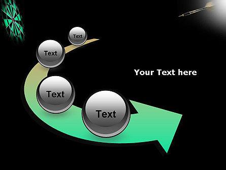 Bullseye Arrow PowerPoint Template Slide 6