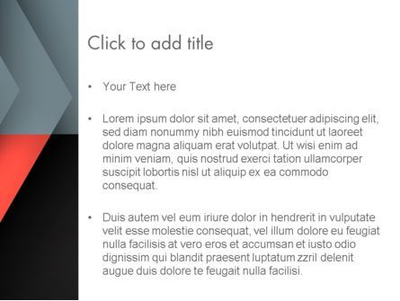 Abstract Overlapping Folders PowerPoint Template, Slide 3, 13863, Abstract/Textures — PoweredTemplate.com