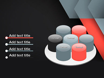 Abstract Overlapping Folders PowerPoint Template Slide 12