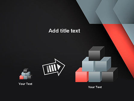 Abstract Overlapping Folders PowerPoint Template Slide 13