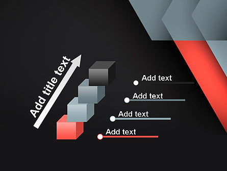 Abstract Overlapping Folders PowerPoint Template Slide 14