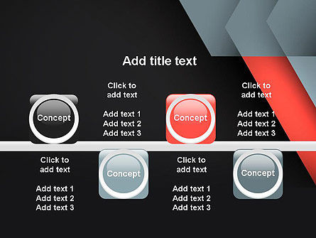 Abstract Overlapping Folders PowerPoint Template Slide 18