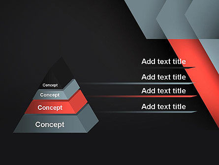 Abstract Overlapping Folders PowerPoint Template Slide 4