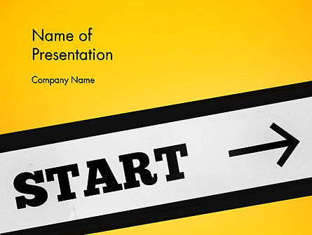 Start On PowerPoint Template