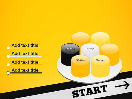 Start On PowerPoint Template Slide 12