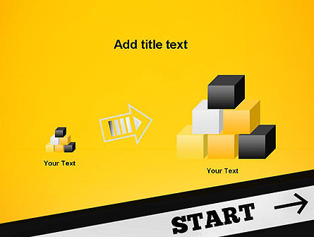 Start On PowerPoint Template Slide 13