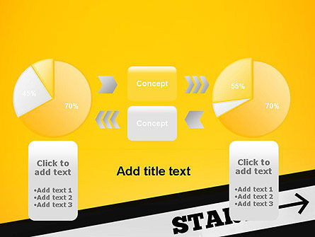 Start On PowerPoint Template Slide 16