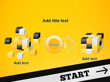 Start On PowerPoint Template Slide 17