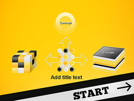 Start On PowerPoint Template Slide 19