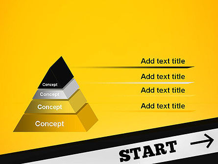 Start On PowerPoint Template Slide 4
