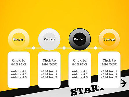 Start On PowerPoint Template Slide 5