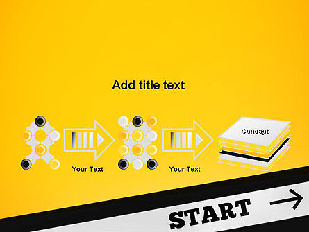 Start On PowerPoint Template Slide 9