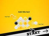 Start On PowerPoint Template#10