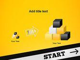 Start On PowerPoint Template#13