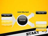 Start On PowerPoint Template#15