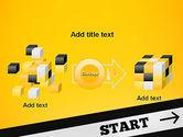 Start On PowerPoint Template#17